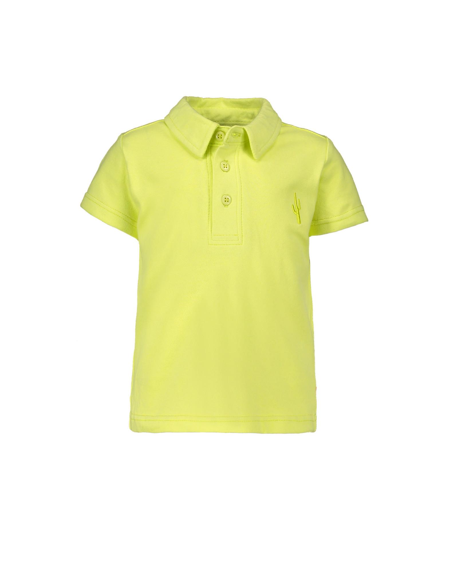 Bampidano Bampidano baby jongens polo t-shirt Evan Lime
