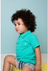 Bampidano Bampidano baby jongens korte joggingbroek Eliah Grey Melee