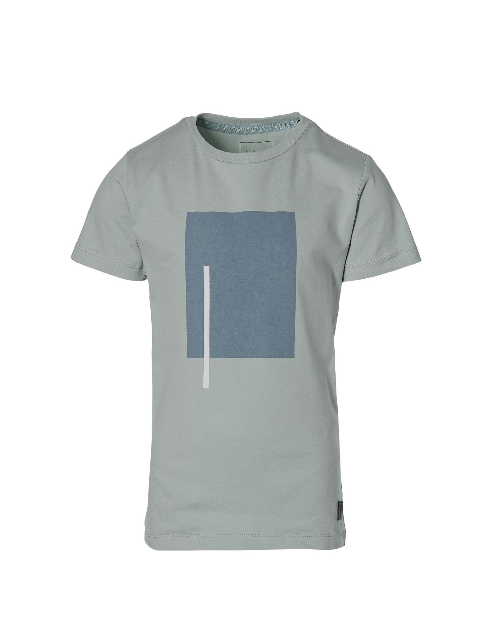 LEVV Levv jongens t-shirt Math Cloud Blue