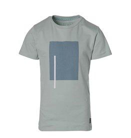 LEVV Levv jongens t-shirt Math Cloud Blue