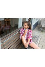 LEVV Levv meiden Kimono Minke Stone Red Paisley