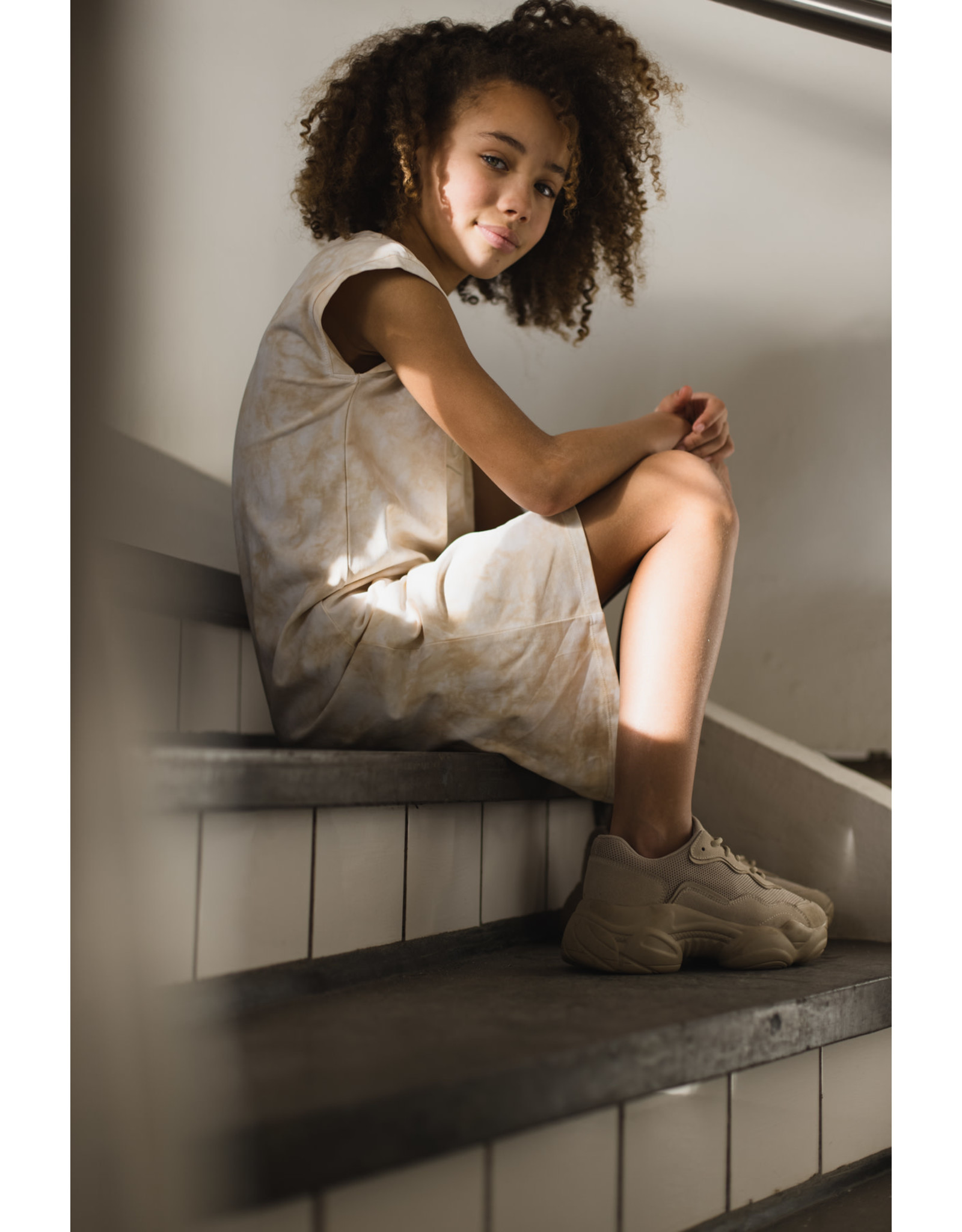 LEVV Levv meiden jurk Mariana Ligth Sand
