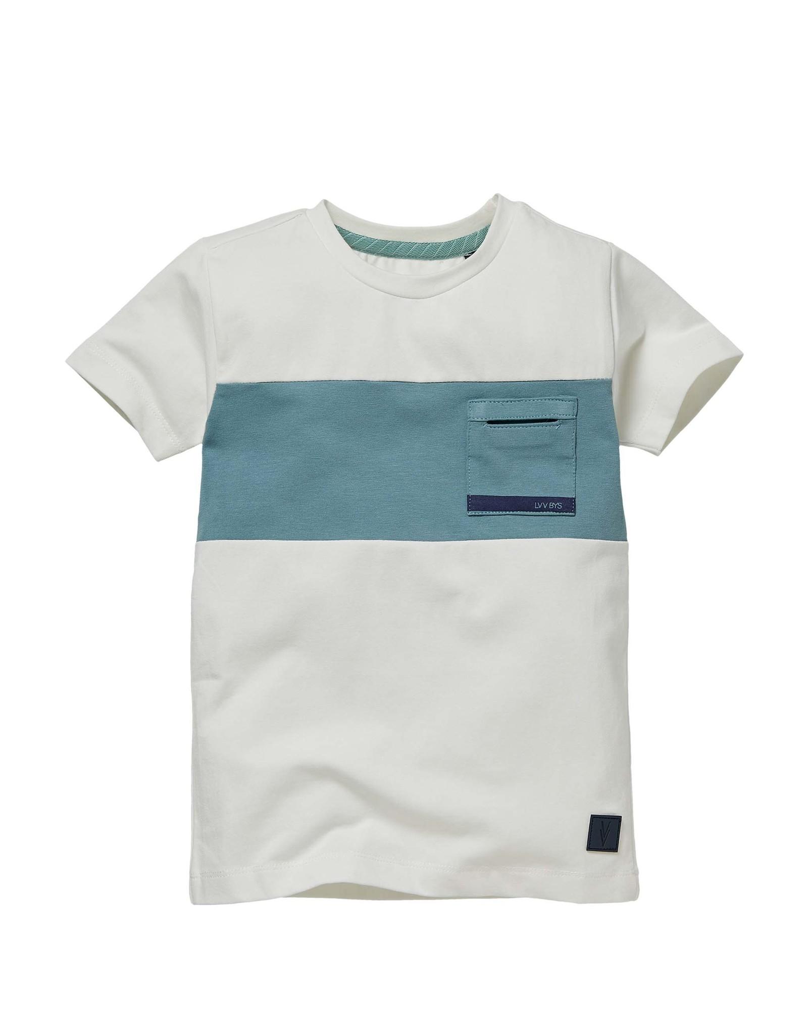 LEVV Levv jongens t-shirt Neill White
