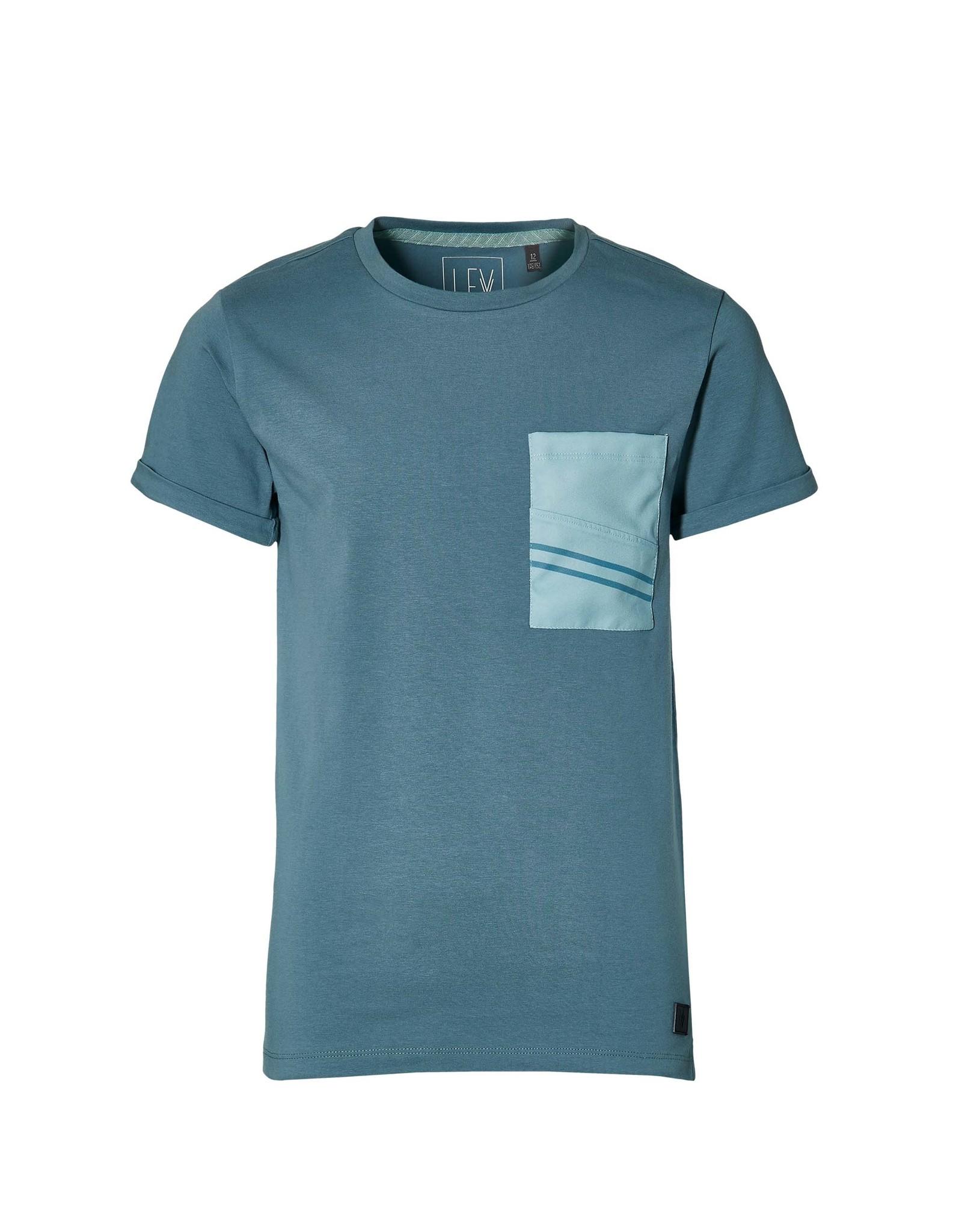 LEVV Levv jongens t-shirt Marco Vintage Blue