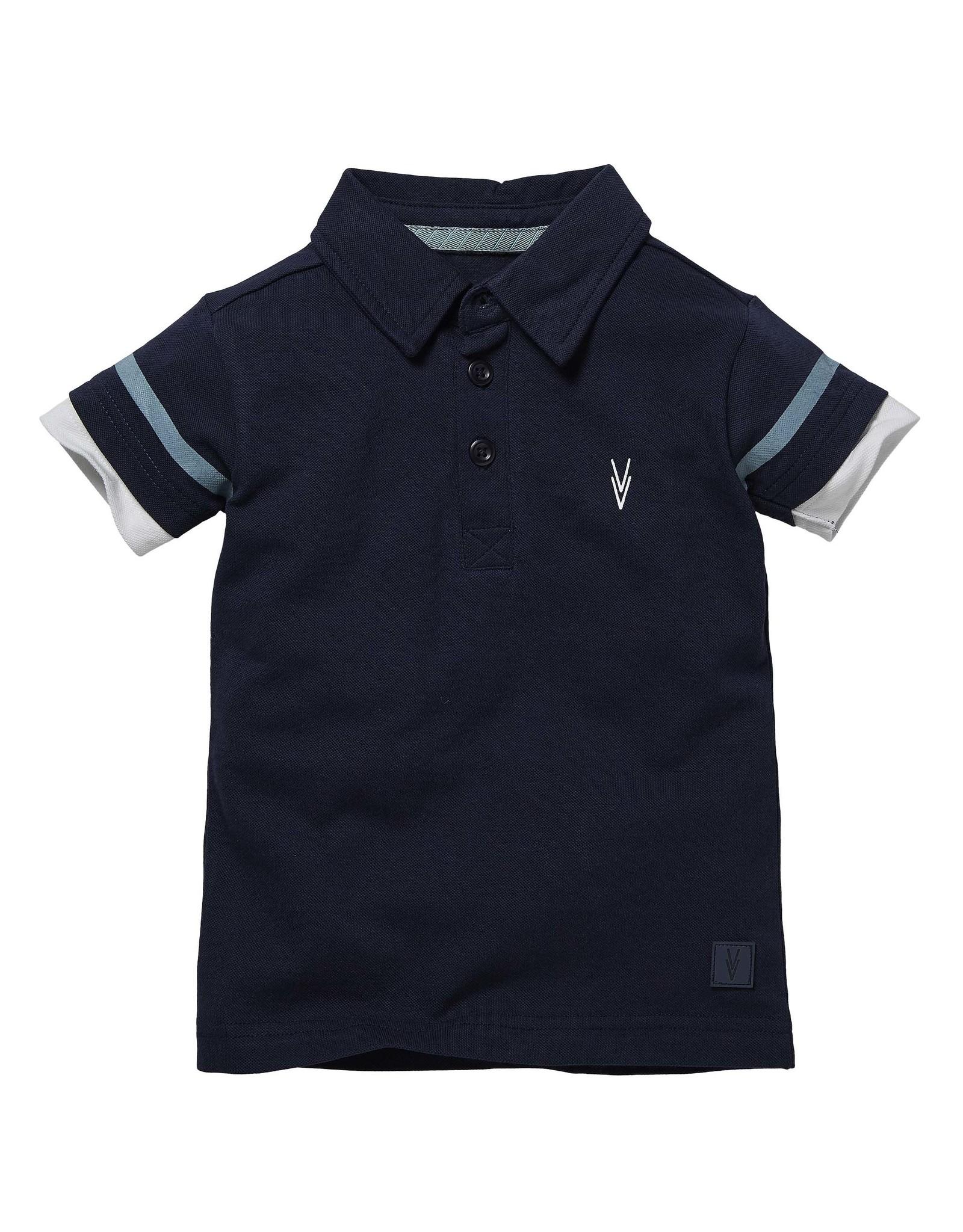 LEVV Levv jongens polo t-shirt Niam Dark Blue