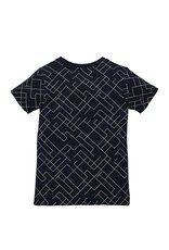LEVV Levv jongens t-shirt Naut Dark Blue Graphic