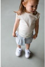 LEVV Levv meisjes top Nicci Cream White Stripe