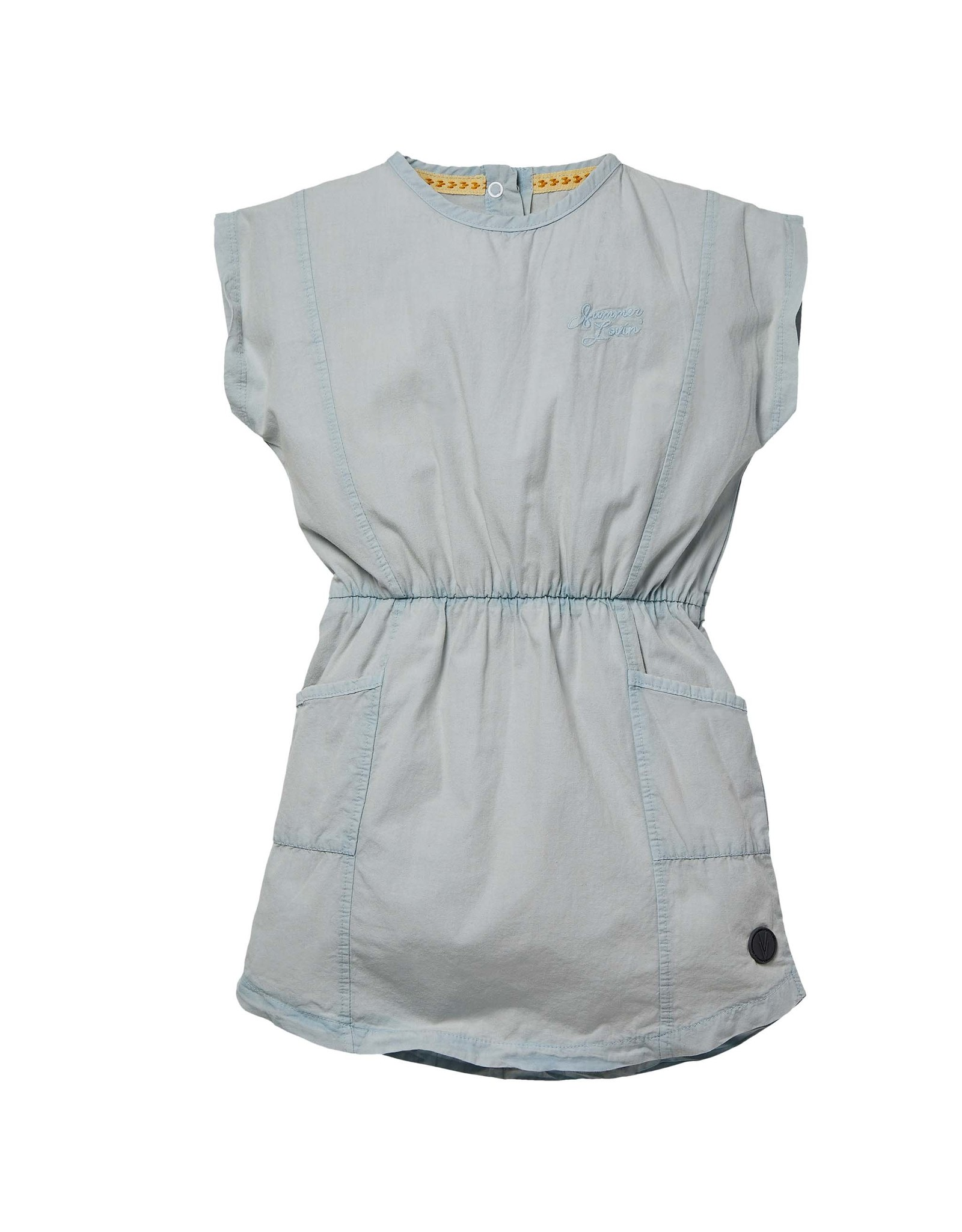 LEVV Levv meisjes jurk Nasra Grey Mist