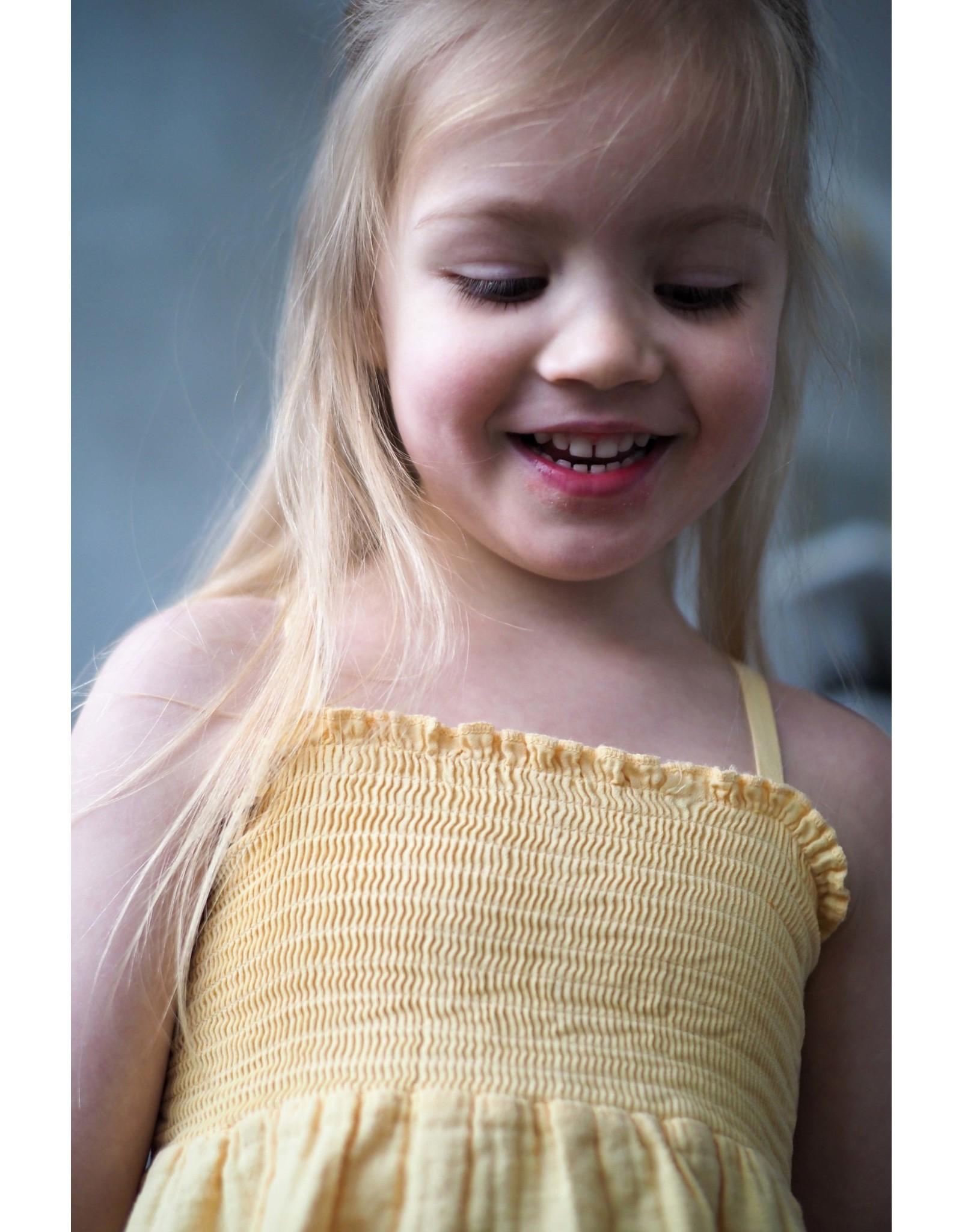 LEVV Levv meisjes jurk Nance Sahara Yellow