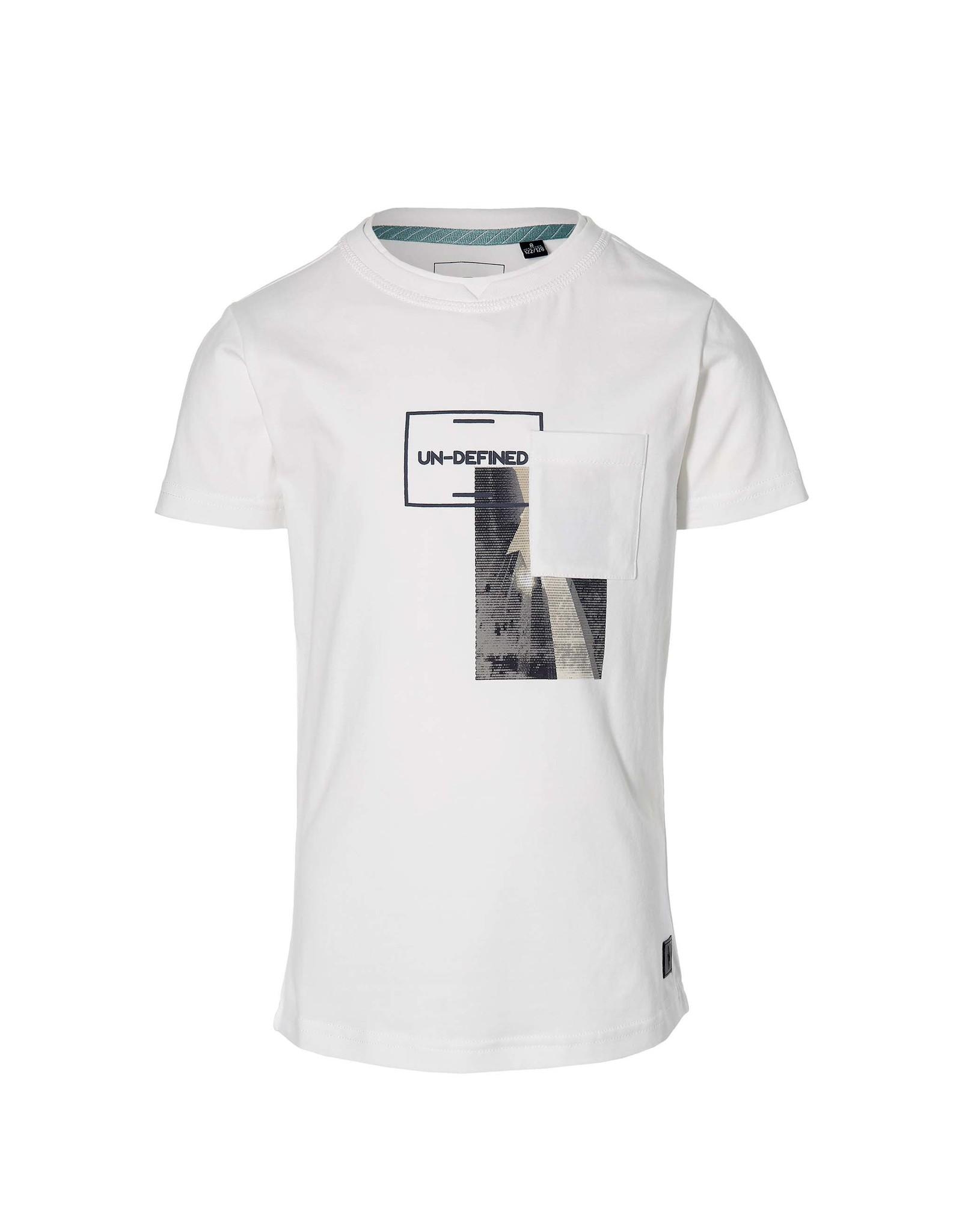 LEVV Levv jongens t-shirt Maes White