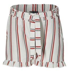 LEVV Levv meiden linnen korte broek Mirei White Stripe