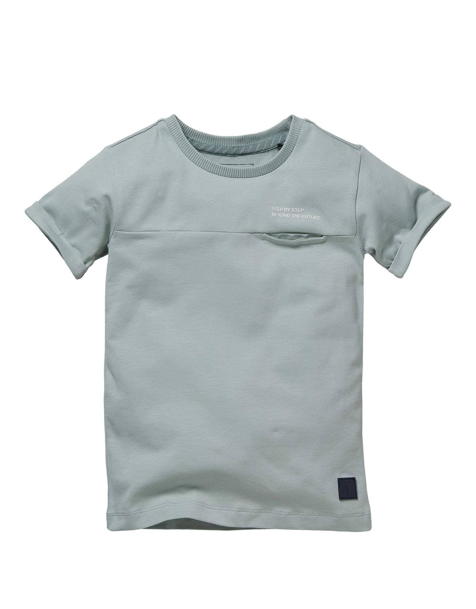 LEVV Levv jongens t-shirt Nelson Cloud Blue