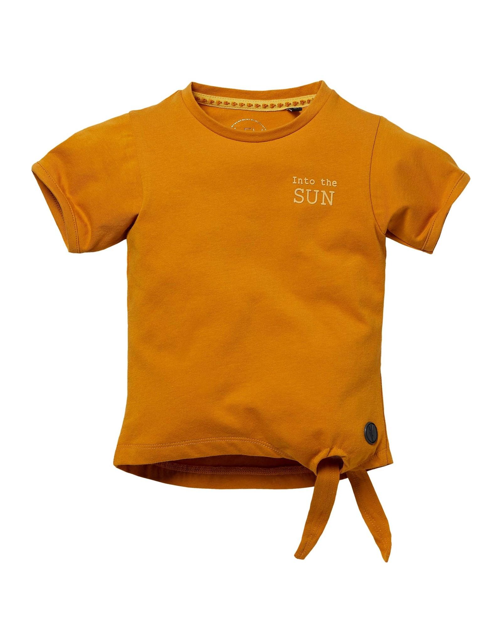 LEVV Levv meisjes t-shirt Nicola Mustard