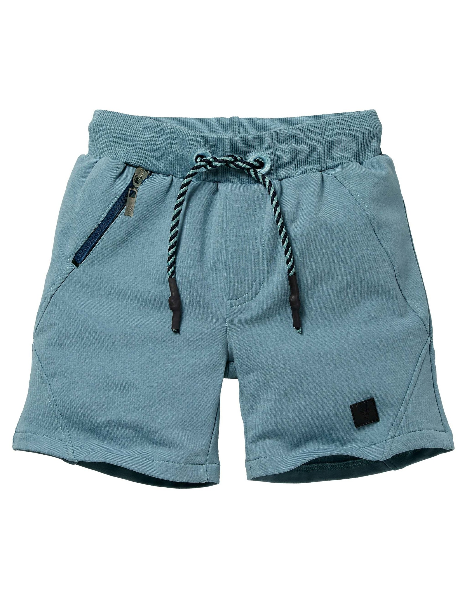 LEVV Levv jongens korte joggingbroek Nolan Vintage Blue