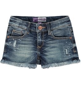 Raizzed Raizzed meiden korte jeans Louisiana Mid Blue Stone S21
