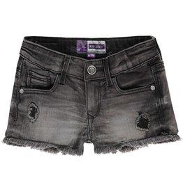 Raizzed Raizzed meiden korte jeans Louisiana Dark Grey Stone S21