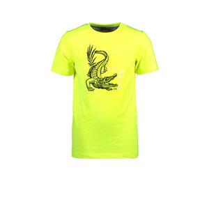TYGO & vito TYGO & vito jongens t-shirt Crocodile Safety Yellow