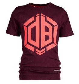 Vingino Vingino jongens Daley t-shirt Hallis Maroon Red