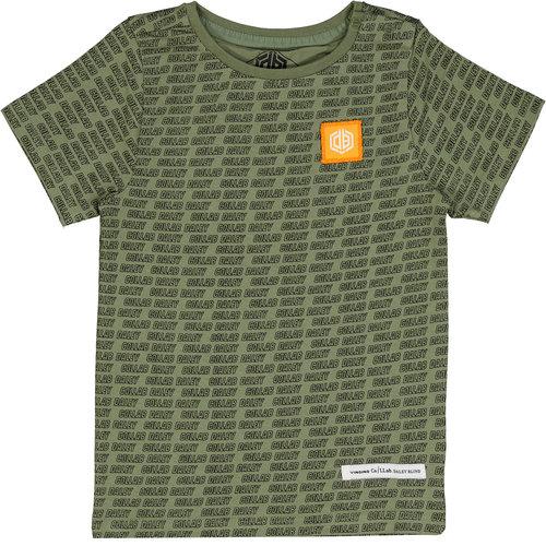 Vingino Vingino jongens Daley t-shirt Hafiro Light Army Green