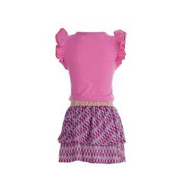 Quapi Quapi meisjes jurk Faith Pink Sweet