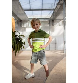 Quapi Quapi jongens polo t-shirt Ferit Green Dark