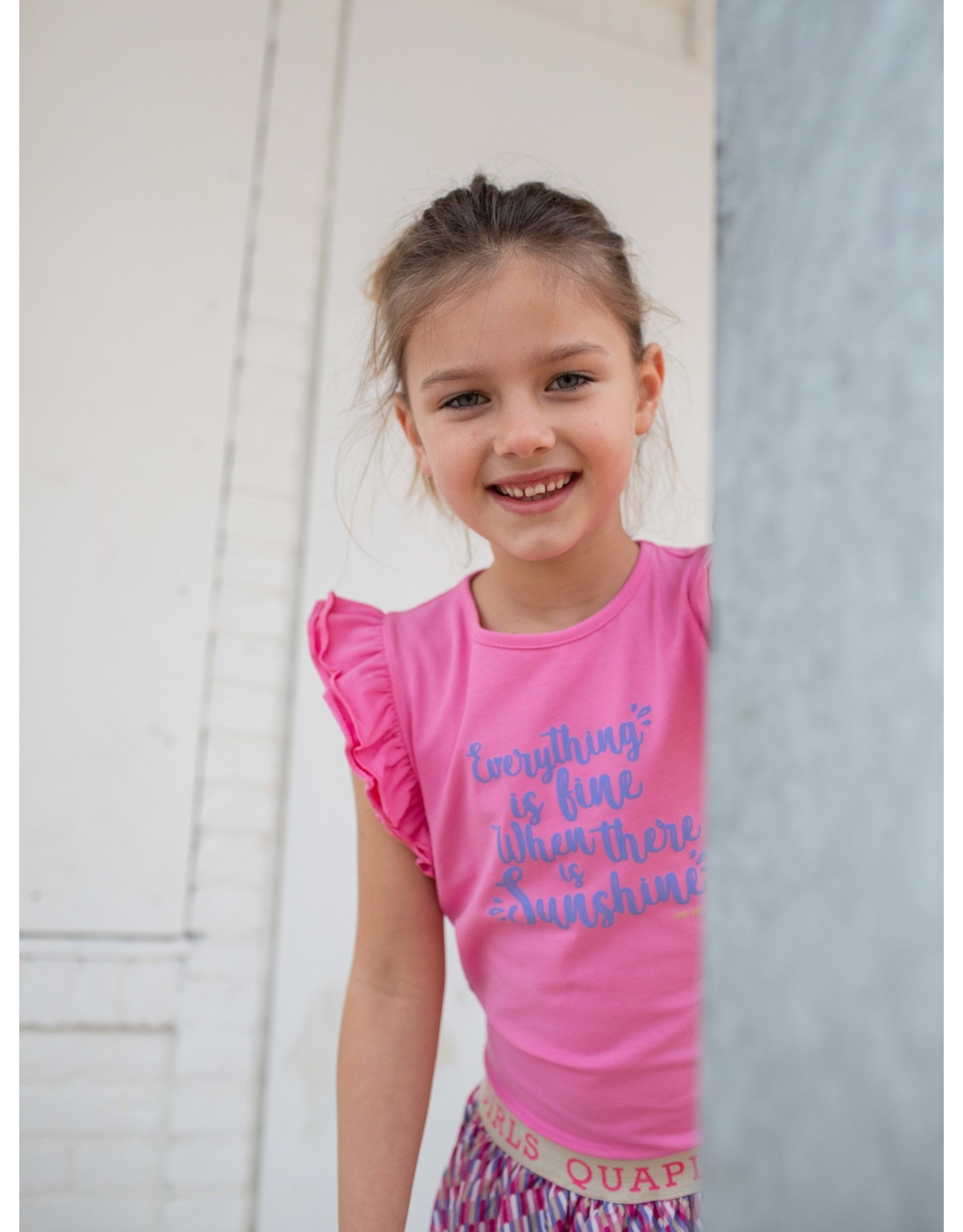 Quapi Quapi meisjes top Finola Pink Sweet