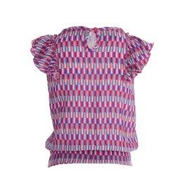 Quapi Quapi meisjes t-shirt Floret Pink Sweet Graphic aop