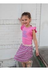 Quapi Quapi meisjes mouwloze jurk Faith Pink Sweet