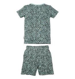Quapi Quapi jongens pyjama Pim Green Leopard aop