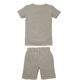 Quapi Quapi jongens pyjama Pim Sand Abstract aop