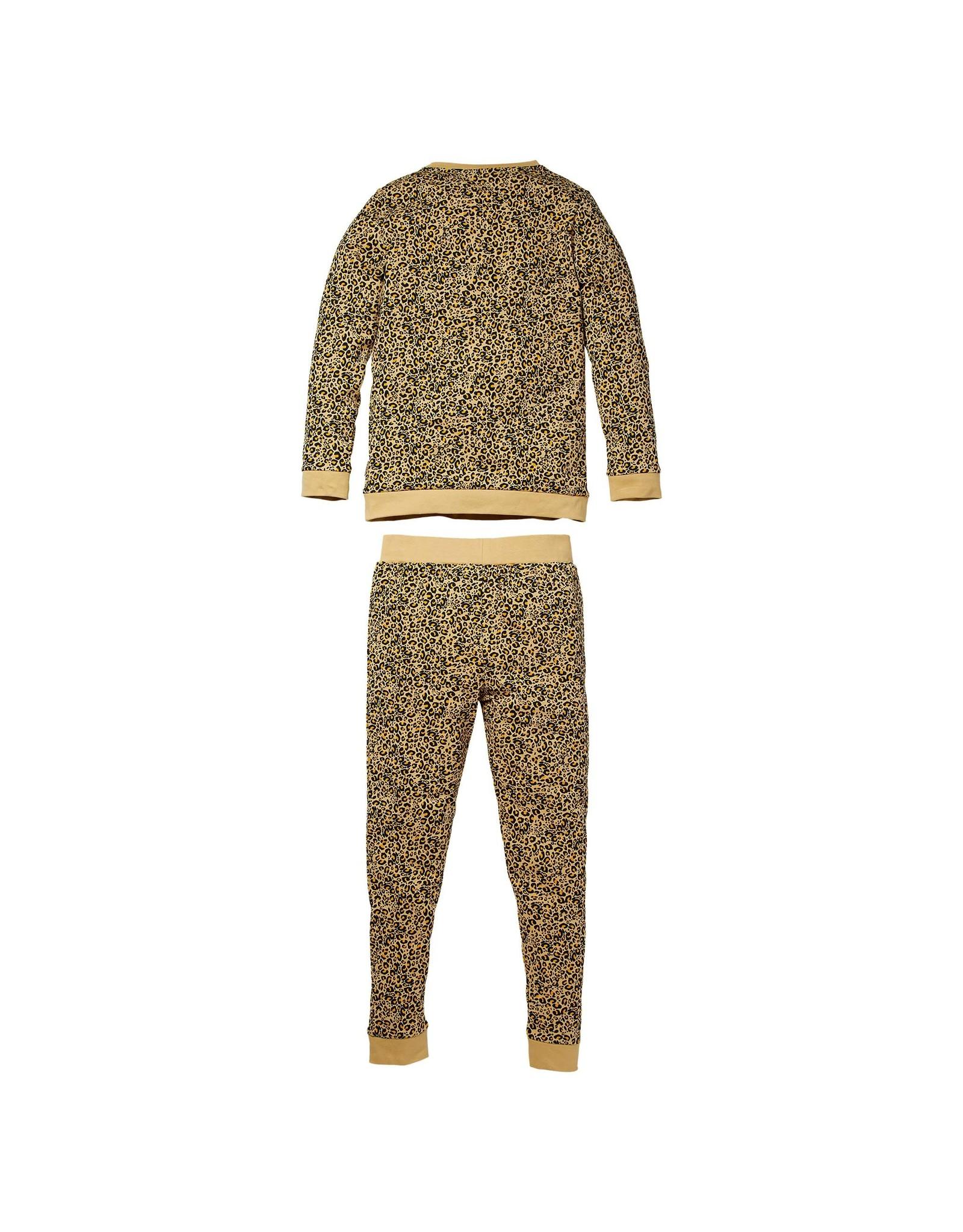 Quapi Quapi meisjes pyjama Puck Sand Leopard aop