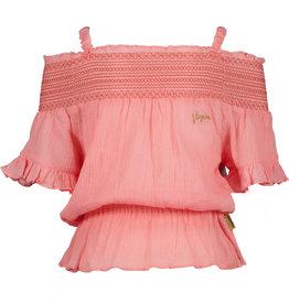Vingino Vingino meiden t-shirt Hezna Coral Pink