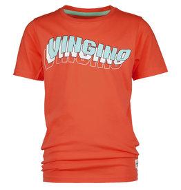 Vingino Vingino jongens t-shirt Haluk Beach Red