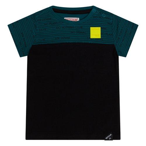 RETOUR Retour baby jongens t-shirt Sen Black
