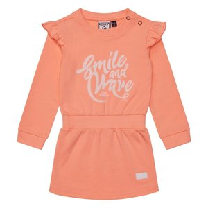 RETOUR Retour baby meisjes jurk Noeska Peach