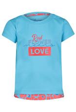 4President 4President meisjes t-shirt Kelby Turquoise