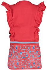 4President 4President meisjes mouwloze jurk Sonnet Red AOP