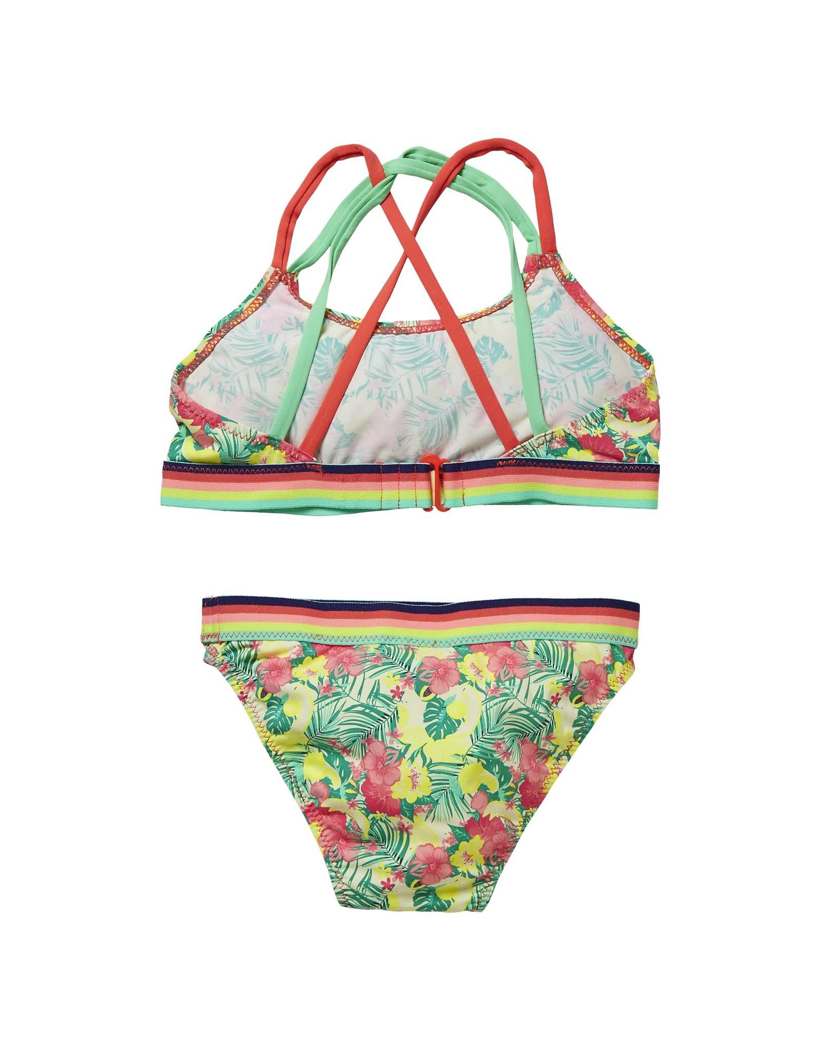 Quapi Quapi meisjes bikini Fione Multi Color Flower