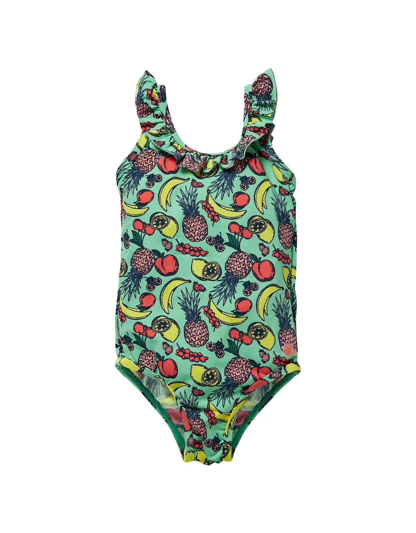 Quapi Quapi baby meisjes zwempak Garina Green Fruity