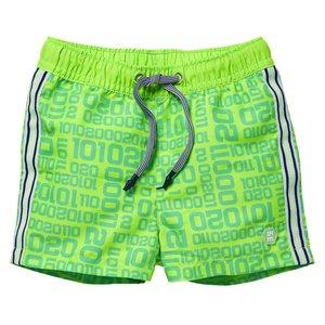 Quapi Quapi baby jongens zwembroek Giani Neon Green Letter