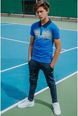 Bellaire Bellaire jongens polo t-shirt Kokosy Nautical Blue