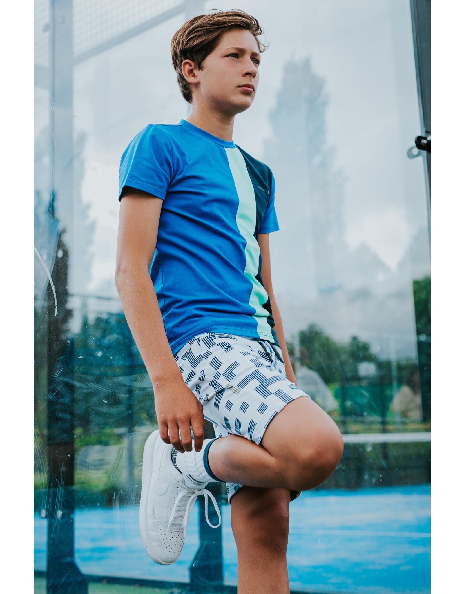 Bellaire Bellaire jongens t-shirt Kuro Nautical Blue