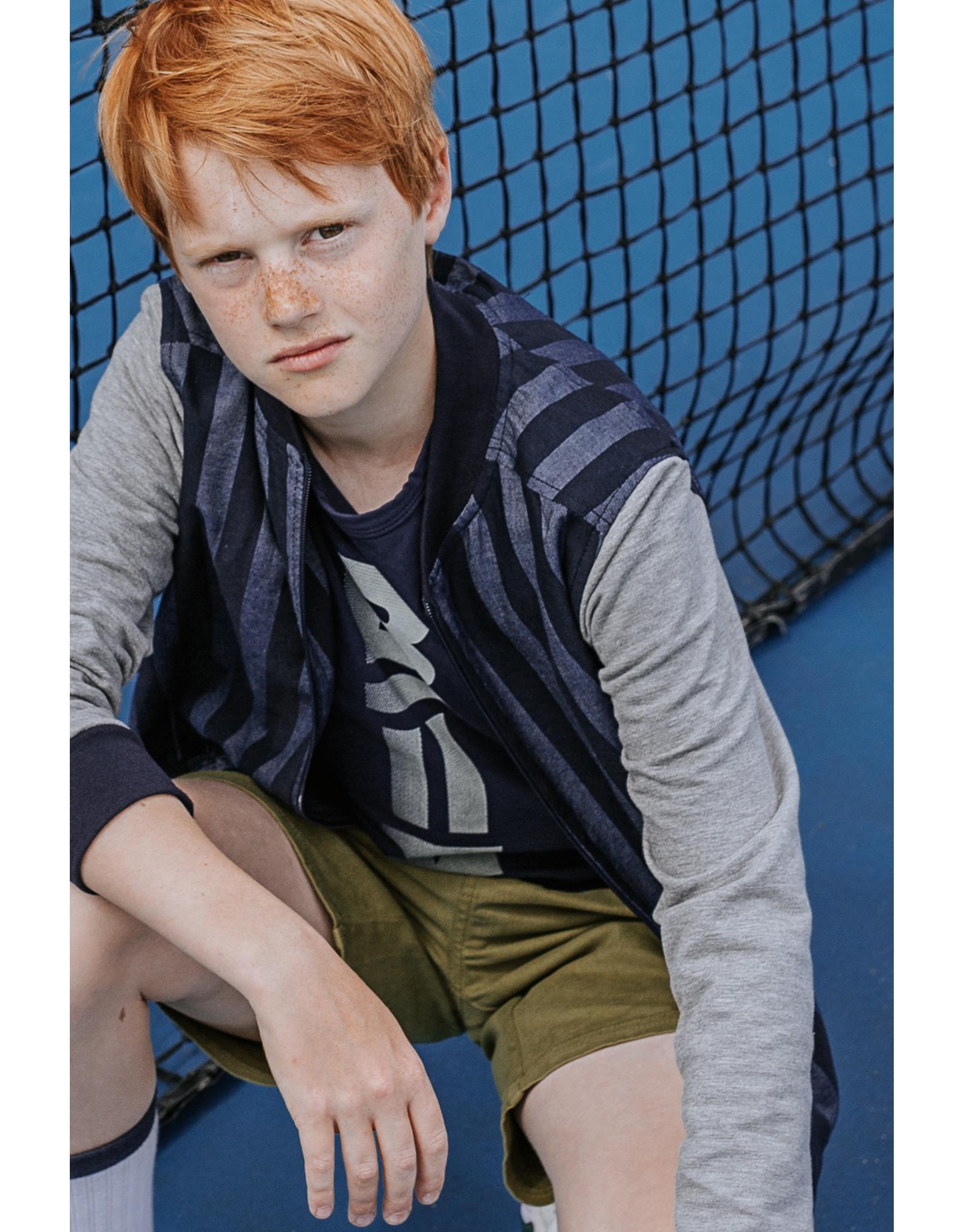 Bellaire Bellaire jongens t-shirt Kurt Navy