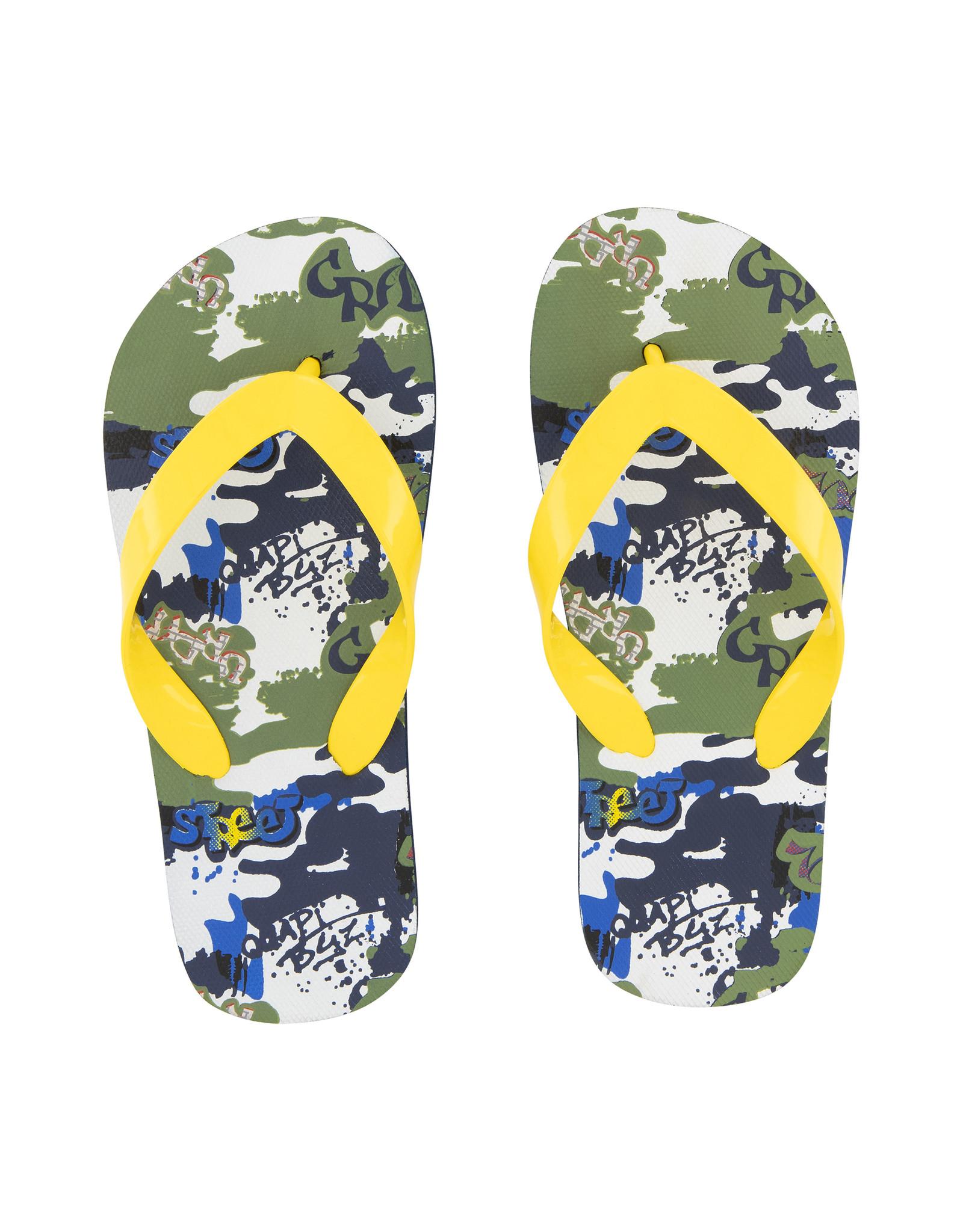 Quapi Quapi jongens slippers Austin Grafiti