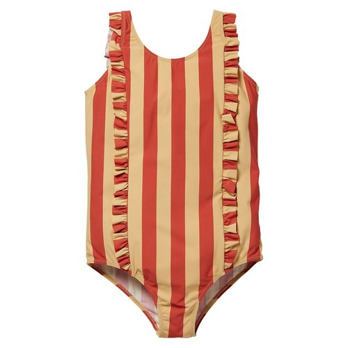 LEVV Levv meiden badpak Noura Stone Red Stripe
