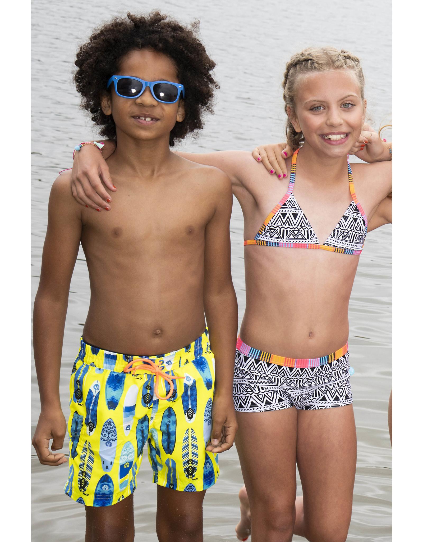 Just Beach Just Beach jongens zwemshort Surfboard