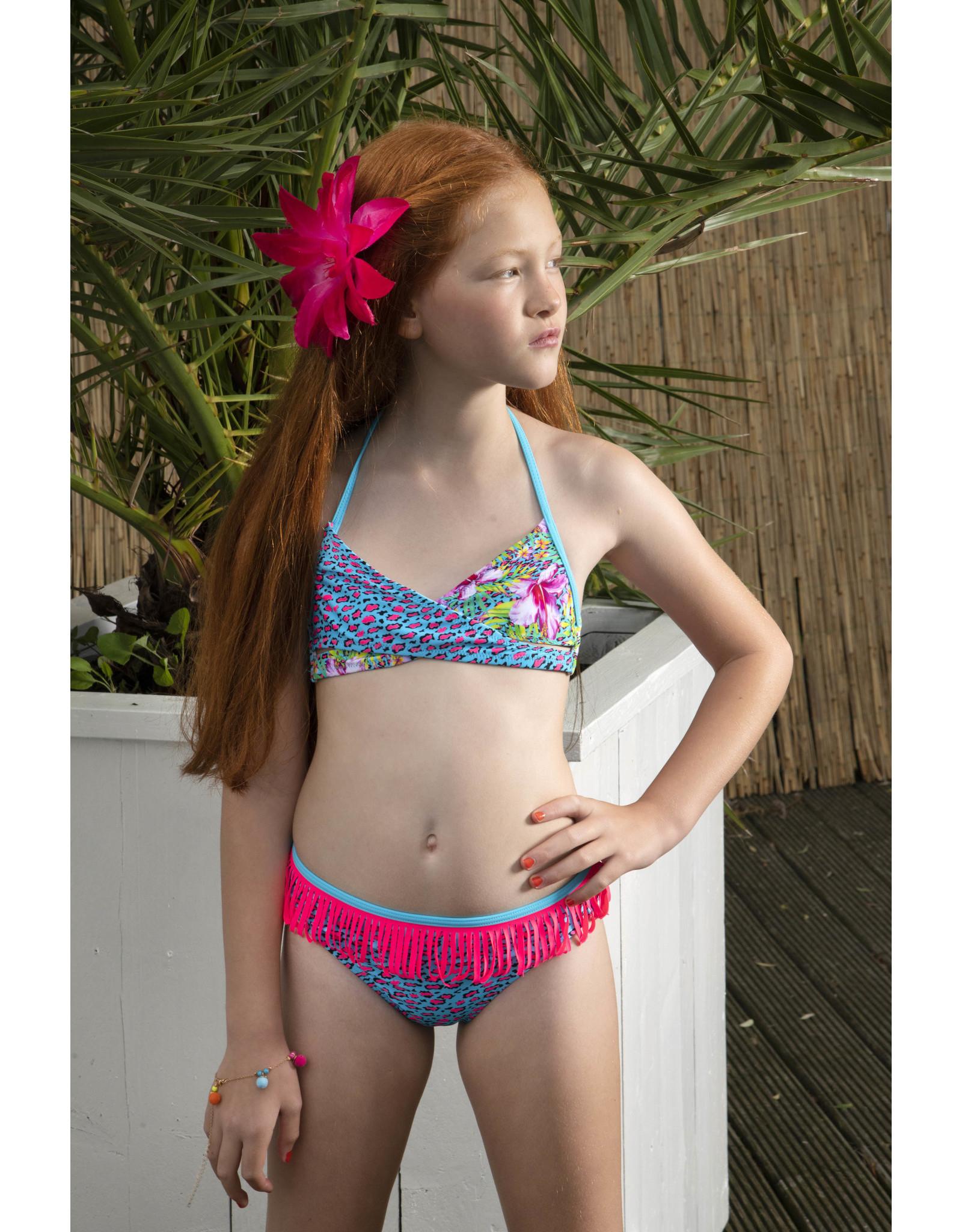 Just Beach Just Beach meiden wikkel bikini Tropical