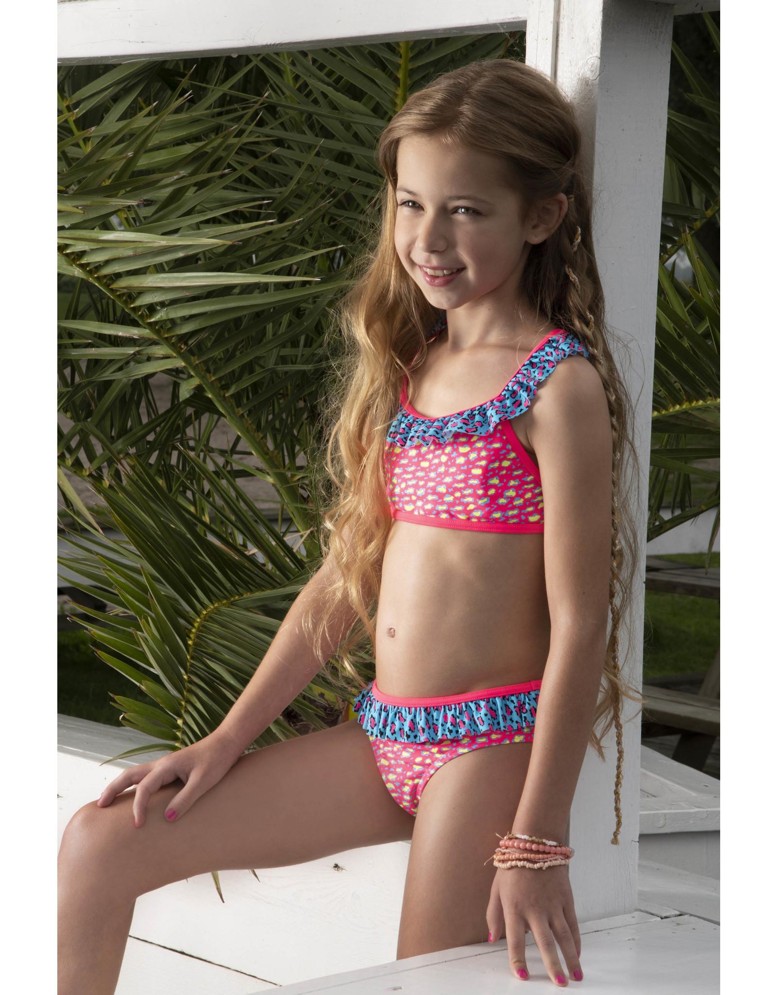Just Beach Just Beach meiden bikini Leopard Pink