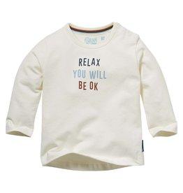 Quapi Quapi newborn baby jongens shirt Nelis Off White