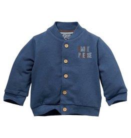 Quapi Quapi newborn baby jongens vest Niels Denim Blue